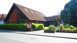 Cranleigh Library exterior