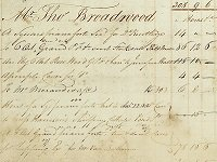 John Broadwood and Sons ledger, 1817