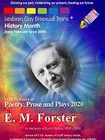LGBT+ History Month 2020 EM Forster poster