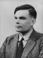 Alan Turing by Elliott & Fry