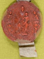 Seal of Priory of St Mary Overy Southwark 2609/11/3/2
