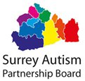 Logo for the Surrey Autism Partnership Board
