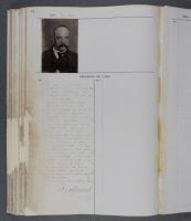 Conservation of a badly damaged casebook - after