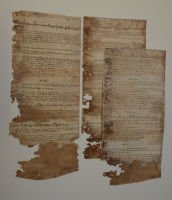 Parchment manorial court roll