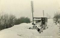Farnham Road in snow