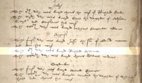 Godalming parish register showing the burial of Richard Charman on 5 August 1583