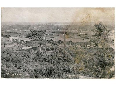 Old picture or Witley Camp in 1916