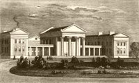 Reed's School at Clapton in 1845