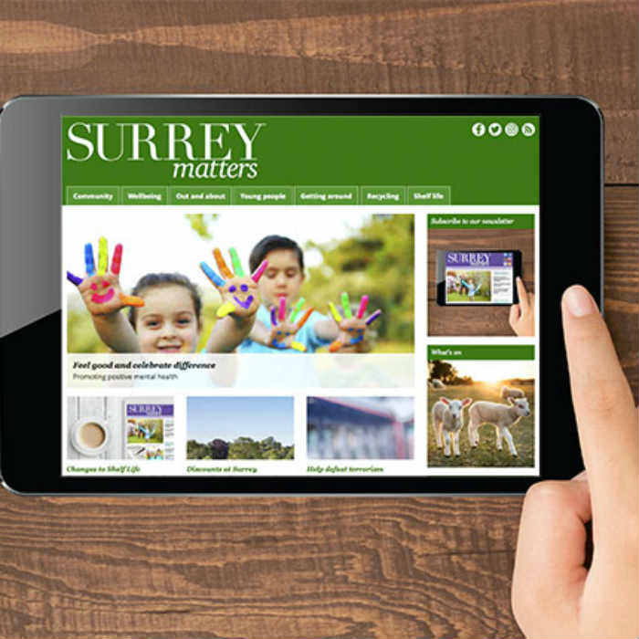 Subscribe to the Surrey Matters Newsletter