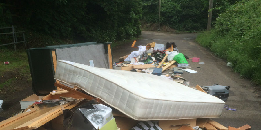 August - fly tipping