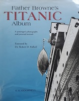 Front cover of Father Browns Titanic Album