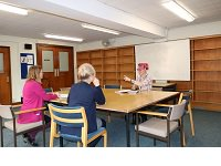 Guildford Library seminar room in use