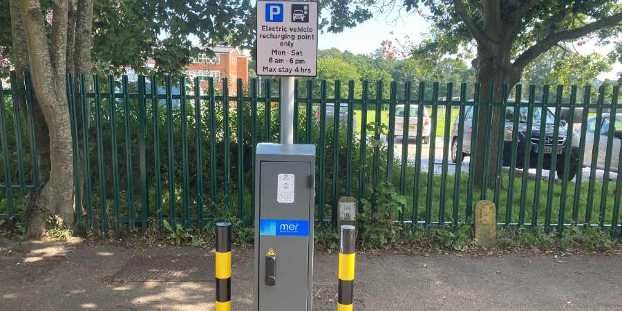 First on-street electric vehicle charging points are live