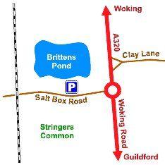 Brittens Pond map