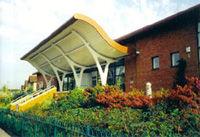 Surrey History Centre entrance