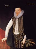 Sir George More (1553-1632) from a portrait at Loseley House