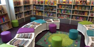 Merstham library junior area
