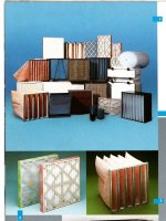 Products promotional photograph from Vokes air and fuel filter product brochures