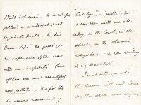 Link to a larger image of a letter from Vernon Lushington to his wife