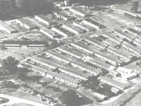 Botley's War Hospital Chertsey aerial view 1940s