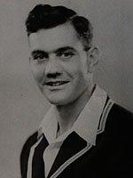 Portrait of Alec Bedser prior to the 1946-47 tour of Australia SHC ref 8738/2/7