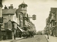 Link to a larger image of Guildford High Street postcard 1903 PH_72_Box 4_148