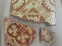 Floor tiles from Oatlands Palace