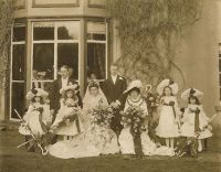 Old wedding photograph - family history