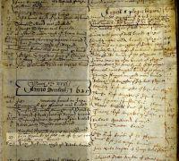 Burial of John Sherlock, Dorking St Martin, 23 Apr 1625 (SHC ref DOM/1/1)
