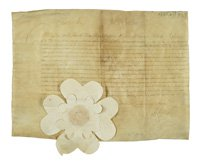 commission to requisition Crown taxes from English ships during the Commonwealth period, 30 Mar 1650