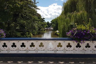 Bridge over the River Wey in Guildford