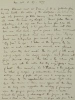 Thomas Farrer account of visit to Down House 1877 (SHC ref 9609/4/3/2)