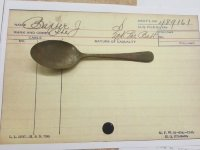 The spoon found at Witley Camp
