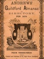 Andrews Guildford Almanac 1878 cover