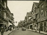 Link to a larger image of Guildford High Street postcard 1923 PH_72_Box 4_152