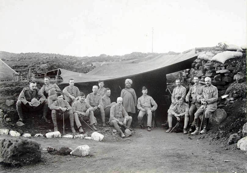 Informal group photograph. SHC ref QRWS/3/11/12/2