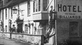 Old picture of a hotel in Surrey