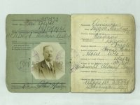Lucean Arthur Headen National Identity card 1931