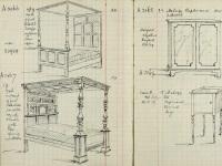 Williamson & Sons drawings of items, Nov 1919 (SHC ref 7679/3)