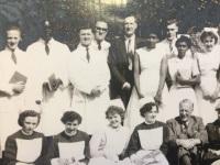 Black nursing staff at Brookwood Hospital 1950s