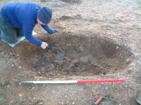 Thorpe and Virginia Water excavation