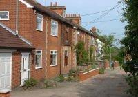 Digital image of houses