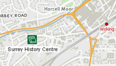Surrey History Centre is in Woking