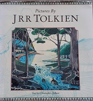 Front cover of Pictures by J R R Tolkien