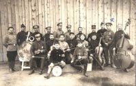 Prisoner of War band from a Great War scrap book compiled by Mrs Christabel Elias Morgan SHC ref: QRWS/30/ELLIAA/2