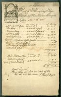 Goldsmith's bill (SHC ref LM/1087/31/31)