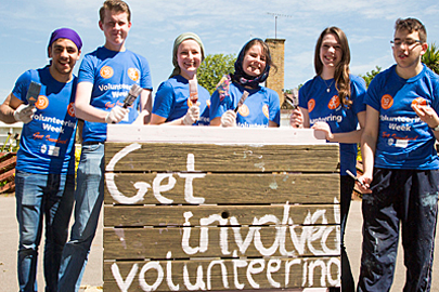 Get Involved Volunteering