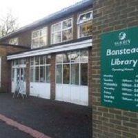 Banstead Library entrance