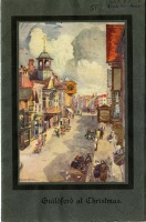 Guildford at Christmas booklet, 1927 (SHC ref 658.87p LOC)