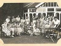 Festival of Britain group of DP teenagers in Woking 9642/36